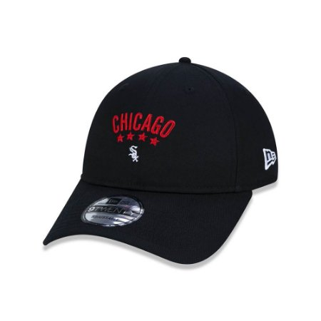 Boné New Era 920 Chicago White Sox - Preto
