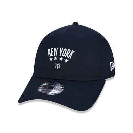 Boné New Era  920 New York Yankees Star Logo - Marinho
