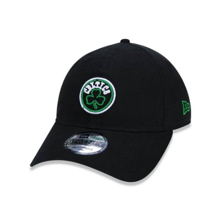 Boné New Era 920 Boston Celtics Neon Logo - Preto
