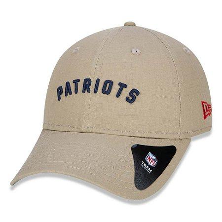 Boné New Era 920 New England Patriots Aba Curva - Strapback