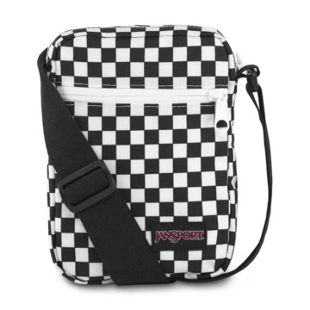 Bolsa Shoulder Bag Jansport Xadrez