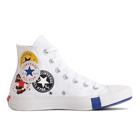Tênis Converse Chuck Taylor All Star Hi Logo Play - Branco