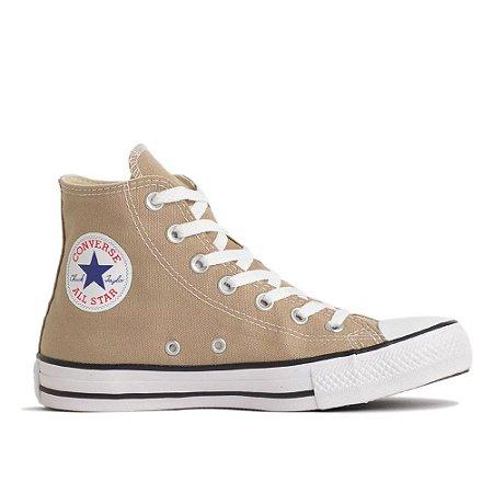 Tênis Converse Chuck Taylor All Star Hi - Caqui