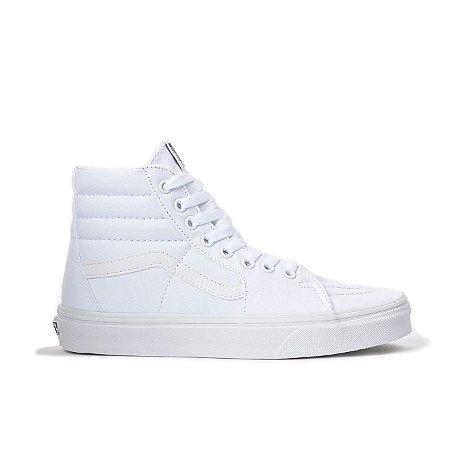 Tênis Vans SK8-Hi - Branco