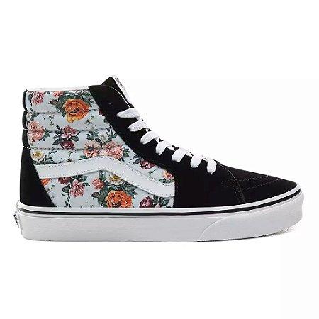 Tênis Vans Sk8-Hi - Floral
