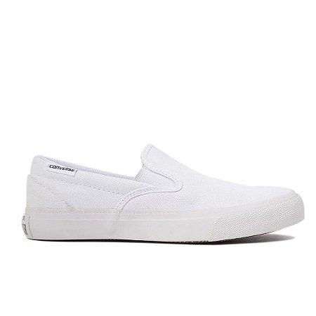 Tênis Converse Chuck Taylor Slip-On - Branco/Branco