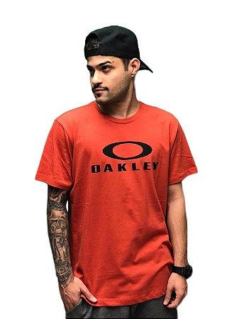 Camiseta Oakley Masculina Logo