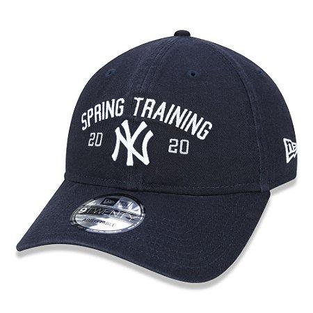 Boné New Era Aba Curva Spring Training New York Yankees - Strapback