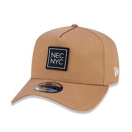 Boné New Era 940 Aba Curva Verantino NYC - Snapback