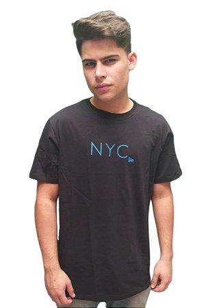 Camiseta New Era Fluor Simple Lettering