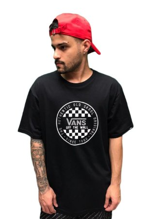 Camiseta Vans Checker Masculina