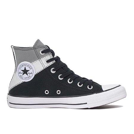 Tênis Converse Chuck Taylor All Star Hi Tri Split - Preto