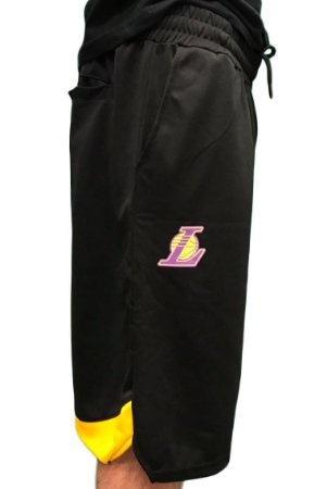 Bermuda New Era Fresh Backcut Lakers - Preta