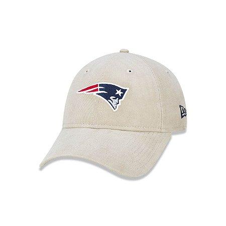 Boné New York New England Patriots Logo Aba Curva - Areia