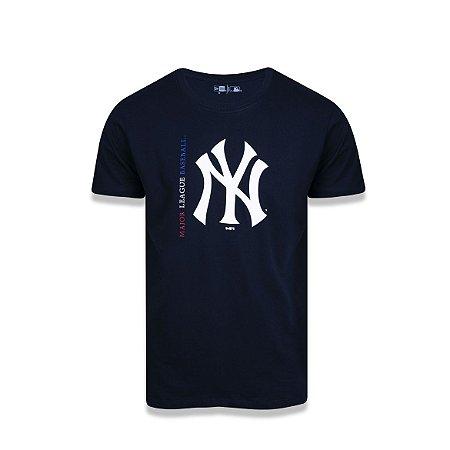 Camiseta New Era New York Yankees - Marinho