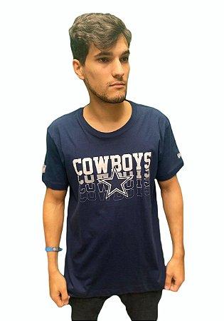 Camiseta New Era Vein Dallas Cowboys Masculina