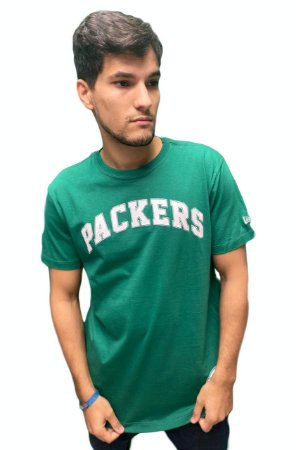 Camiseta New Era Green Bay Packers Masculina