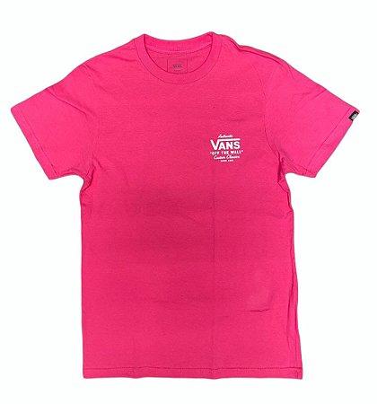 Camiseta Vans Holder Street Masculina Infantil