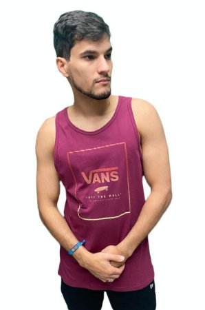 Camiseta Vans Print Box Tank Masculina
