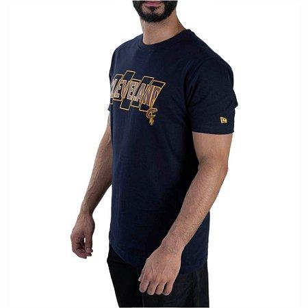 Camiseta New Era NBA Cleveland Cavaliers Essentials Five