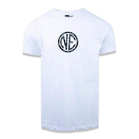 Camiseta New Era Branded Masculina - Branca