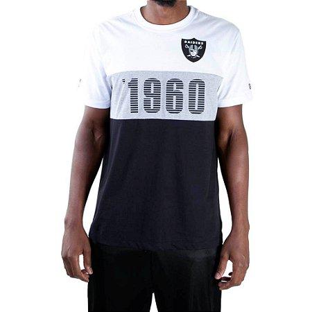 Camiseta New Era Nfl Oakland Raiders Fresh Established