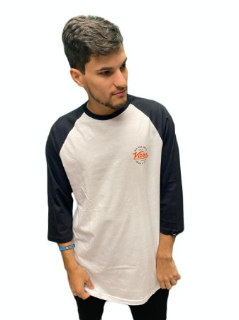 Camiseta Vans Team Van Doren Raglan Masculina