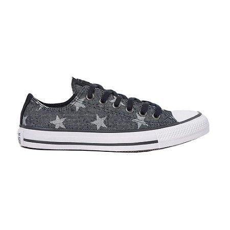 Tênis Converse Chuck Taylor All Star Estrelas - Preto
