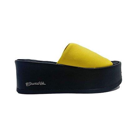 Sandália Barth Shoes Caribe - Preto/Amarelo