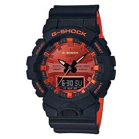 Relógio Casio G-Shock GA-800BR-1ADR