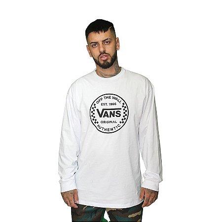 Camisa Vans Authentic Checker LS
