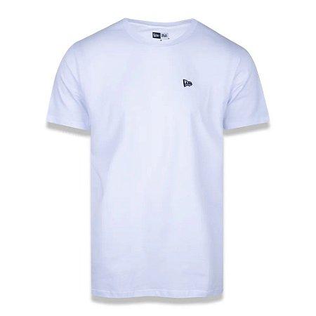 Camiseta New Era Basico Essentials Tri Branca