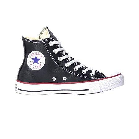 Tênis Converse Chuck Taylor All Star Couro - Preto