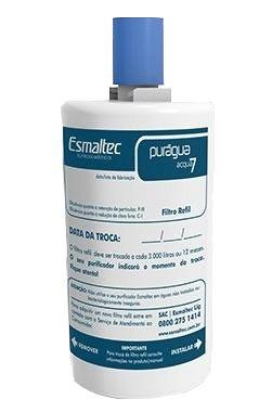 Refil do Filtro Acqua7 Para Purificadores de água ESMALTEC