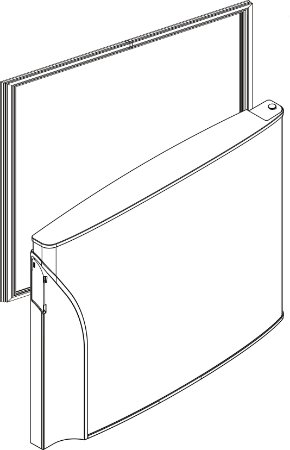 Borracha porta do freezer refrigerador PANASONIC NR-BT49