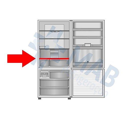 Separador de gavetas do refrigerador NR-BB52
