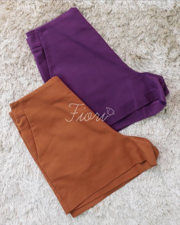 Shorts Alfaiataria Cotton - cores