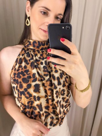 Regata Animal Print - Onça