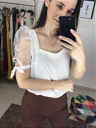 Blusa Princesa Tule