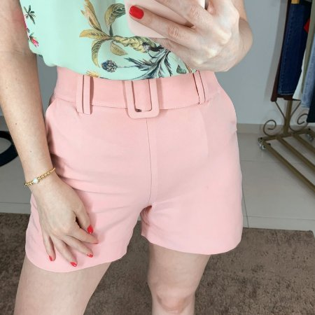 Shorts Alfaiataria Bolso Faca - cores