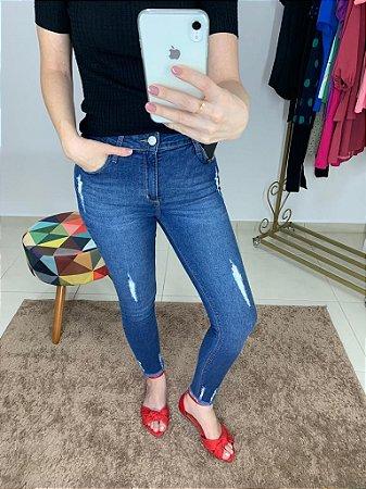 Calça Jeans Skinny Raladinhos Barra
