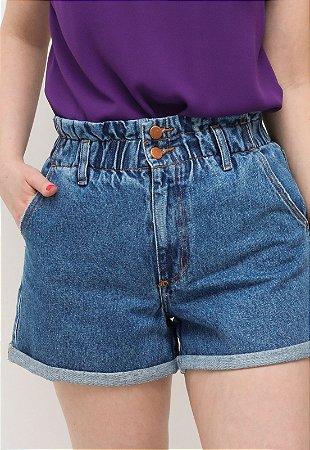 Shorts Jeans Cós Elástico