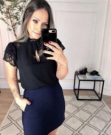 Blusa Renda Lauren