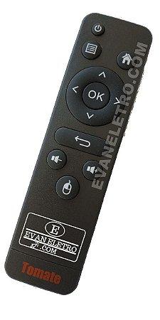 Controle Remoto Tomate TV Smart Tv Box 4k Ultra HD