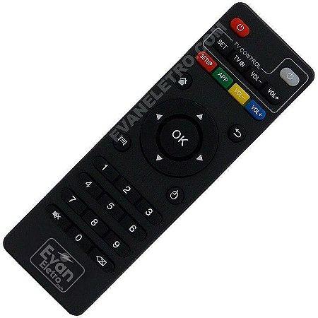 Controle Remoto Para Receptor IPTV+ 4K
