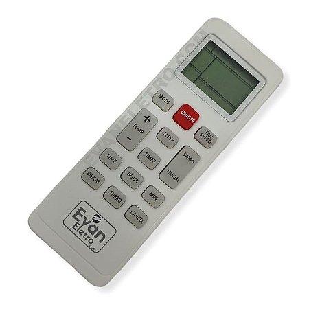Controle Remoto para Ar Condicionado Philco PAC9000TFM9 / PAC12000TFM9