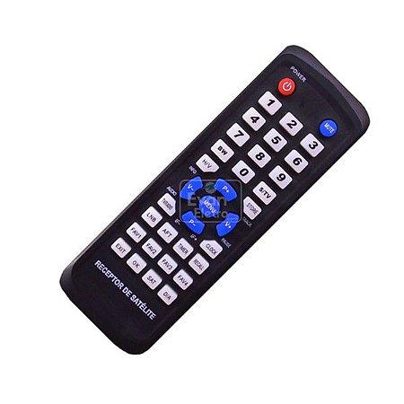 Controle Remoto Receptor Bedin Sat BS5000 TV Free