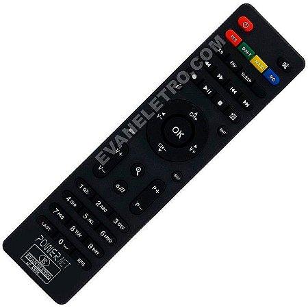 Controle Remoto para Receptor Power Net P99HD
