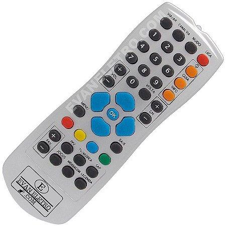 Controle Remoto Receptor Claro TV / Claro Livre