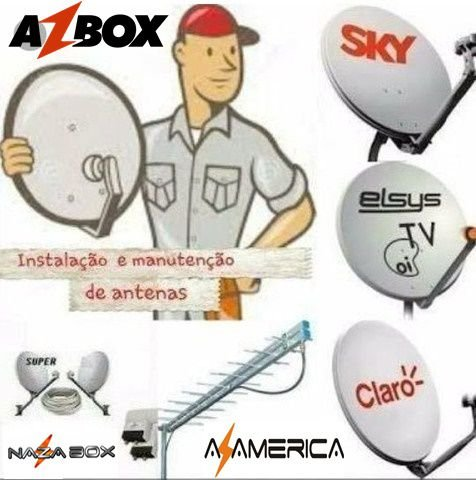técnico Apontamento ESTALAÇAO  Antenista COTIA / VARGEN GRANDE / CARAPICUIBA / BARUERI / CAUCAIA E IMBIUNA macaúbas BA